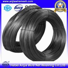 Строительные материалы Черный обожженный стальной железный провод (anjia-258)