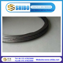 Black Color of 99.95% Pure Tungsten Wires