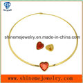 Shineme Jewelry Fashion High Quality Stainless Steel Necklace Match Ear Stud (ERS6888)