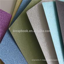 Paillettes pas cher papier cartonné coloré paillettes papier
