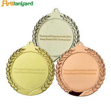 Kundenmedaille mit Heat Transfer Ribbon