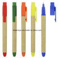 Многофункциональный Эко-дружественных Бумажная ручка шарика с Stylus (ЛТ-C815)