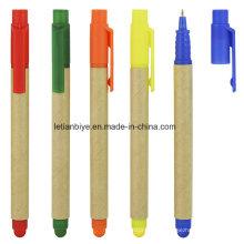Multifunktionale umweltfreundliche Kugelschreiber mit Stylus (LT-C815)