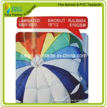 Ламинированный баннер с задней подсветкой (RJLB004) -610gms