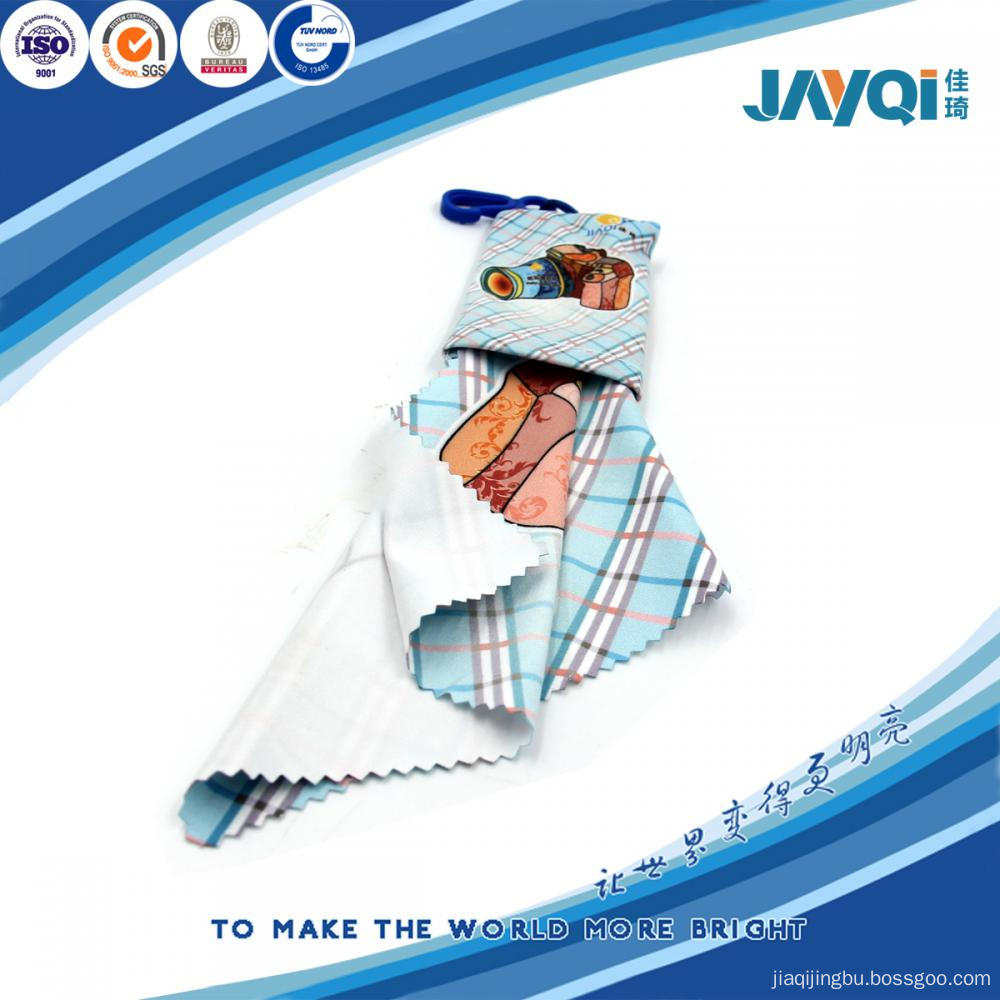 230gsm Glasses Cleaning Cloth In Small Pouch