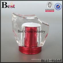 elegante tapa de botella de perfume surlyn rojo