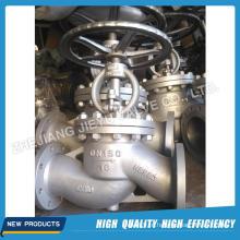 Válvula de aço DIN Pn16 Wcb / Stsinless Globe