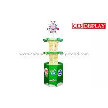 Advertising Tiered Beverage Display Racks For Supermarket / Store