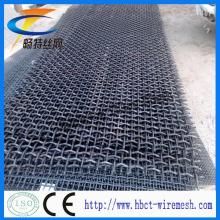 Aço de baixo carbono / malha de arame crimpado de aço macio