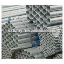 ASTM A53 Tubo de aço galvanizado ERW
