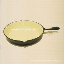 Ce одобрил чугунную сковородку Dia 26cm Цена по прейскуранту завода-изготовителя
