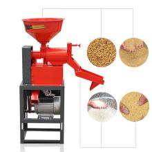 DAWN AGRO Máquina trituradora de cáscara de cáscara de arroz combinada trituradora de arroz 0811