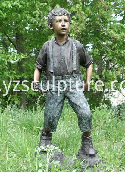 boy sculpture