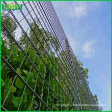 Горячие продажи сварных ворот дизайн двойной проволочной сетки забор с раздвижными воротами с низкой цене