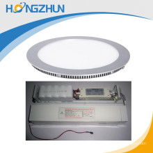 smd2835 18w round Emergency led panel