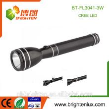 Usage en usine Utilisation de la police rechargeable 2SC Nicd Battery Long Range Distance Powered 3watt Magnetic Cree lampe torche lumineuse