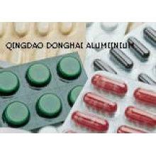 Papel de aluminio farmacéutico