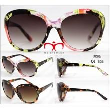 2016 Modische Damen-Sonnenbrille mit Papierübertragung (WSP601547)