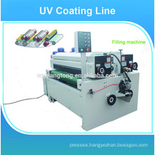 Wood panels UV high glossy painting machine/line