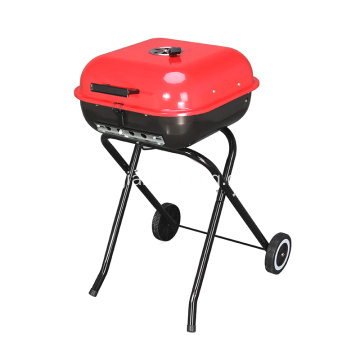 "18 ""Square Folding Charcoal Grill"