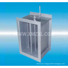 manual steel damper