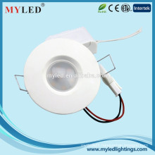 2.5 inch Round Ceiling Panel 3W Mini Recessed LED Downlight