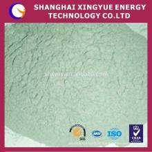 W carboneto de silício verde usado em liga dura, liga de titânio e vidro óptico, também usado para revestimento de cilindro de moagem