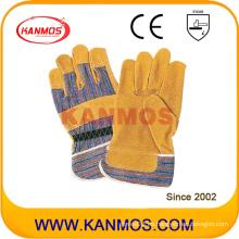 """11 """"cuero de cerdo cuero de trabajo seguridad industrial guantes (21005)"""