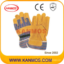 "11"" Pig Split Leather Work Safety Industrial Gloves (21005)"