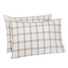 Cotton Yarn Dyed Plaid Pillowcase Slips
