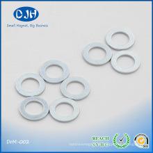 Fuerte sinterizado monopolo NdFeB anillo imán para auriculares