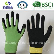 Guante de trabajo de guante de nitrilo (SL-NS104)