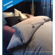 Edredón de cama de algodón de bordado (set)