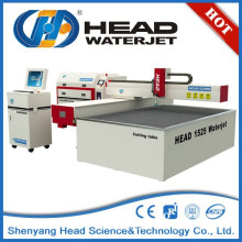 China KOPF 1500mm * 2500mm Wasserstrahl Marmor Denkmal Schneidemaschine