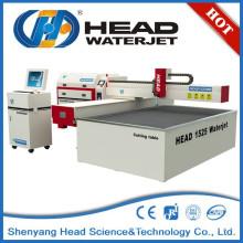 1500mm * 2500mm CNC máquina de procesamiento de vidrio de chorro de agua