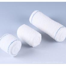 Хлопчатобумажные бинты с полиэтиленовым пакетом