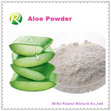 Poudre d'extrait d'aloès 100% naturel de haute qualité