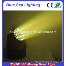 Hot selling 36 * 3w beam moving head led light
