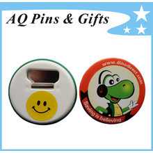 Promotional Gift Tin Button Badge for Bottle Opener (button badge(button badge-47)