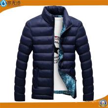 Los hombres al por mayor de la chaqueta del bombardero de invierno abrigos cubren la chaqueta caliente del esquí