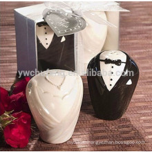 Ceramic Bride and groom Salt and pepper Shaker Wedding Gifts