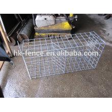 Fabricação profissional da venda quente malha soldada gabião de malha de arame galvanizado