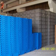 Recipiente de plástico empilhável com material de PP