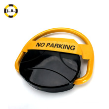 solar and battery powered remote control intelligent automatic parking lock