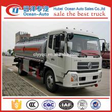 Diesel DFAC 4X2 fuel tanker truck capacity
