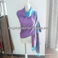 SZ001 жаккарда акриловые пашмины шарфы