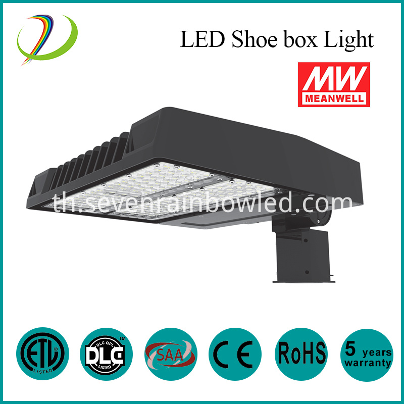 100w led shoe box light