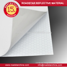 PVC reflective sheeting for temporary warning roadsigns