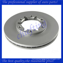 DF7305 MDC1509 40206-VB000 new brake rotors for nissan patrol gr ii wagon