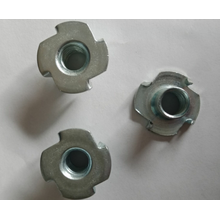 Embedded Furniture M6x9 Zinc Plated T-nut